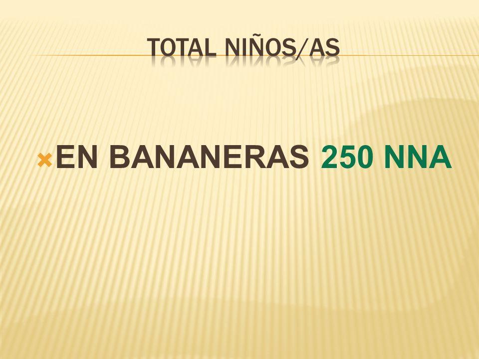 EN BANANERAS 250 NNA