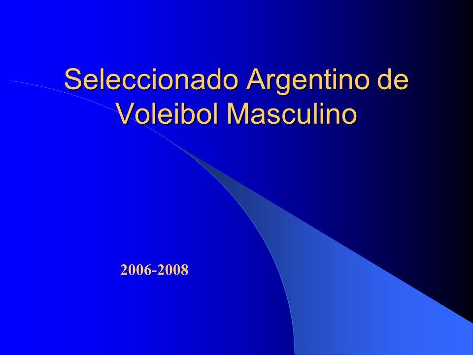 Seleccionado Argentino de Voleibol Masculino 2006-2008