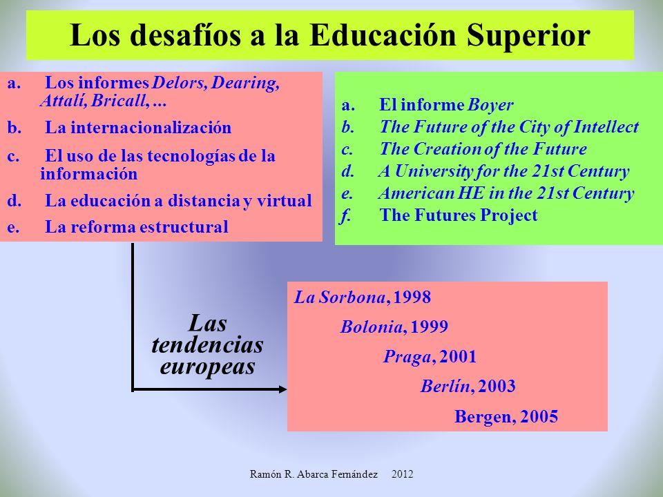 Demandas en educación superior El tipo de demandas se constituye en eje sobre debates y propuestas de reformas de la ES. ¿Pueden responder las IES tra