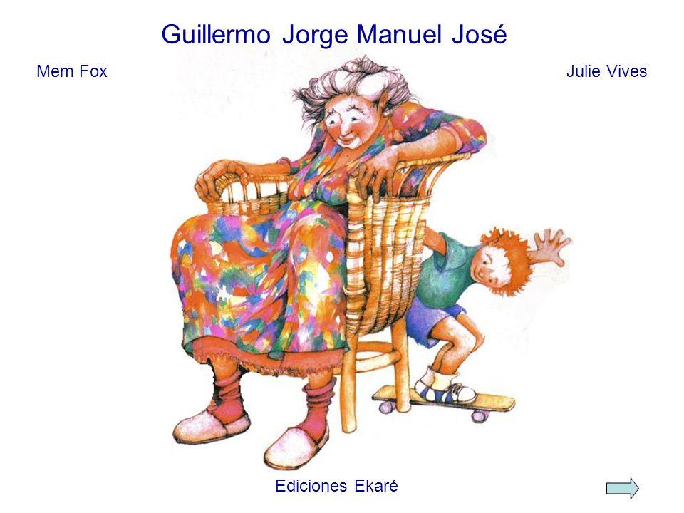 Entonces, Guillermo Jorge regresó a su casa a buscar memorias para la Señorita Ana, porque ella había perdido las suyas.
