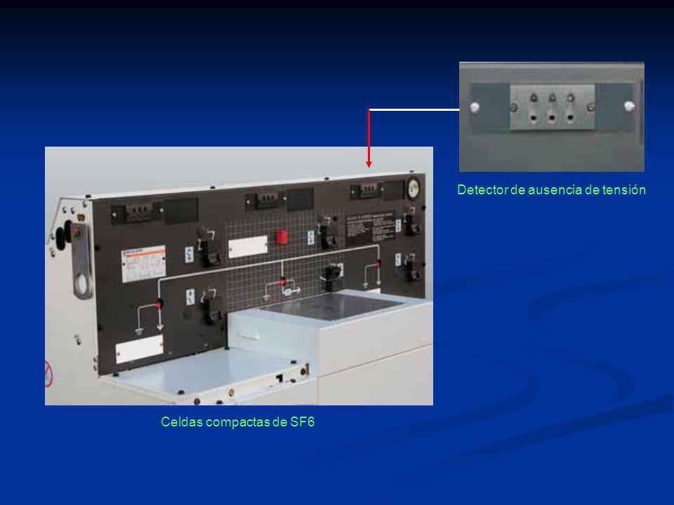 Celdas compactas de SF6 Detector de ausencia de tensión