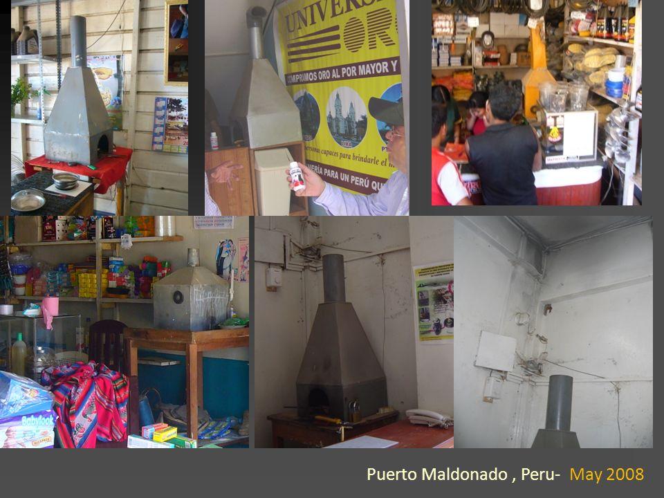 Puerto Maldonado, Peru- May 2008