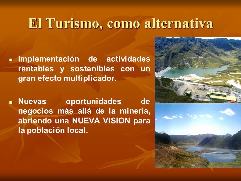 El Turismo, como alternativa Implementación de actividades rentables y sostenibles con un gran efecto multiplicador. Nuevas oportunidades de negocios