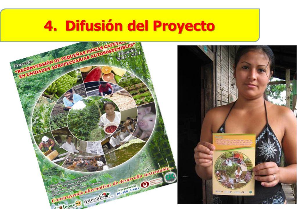 4. Difusión del Proyecto