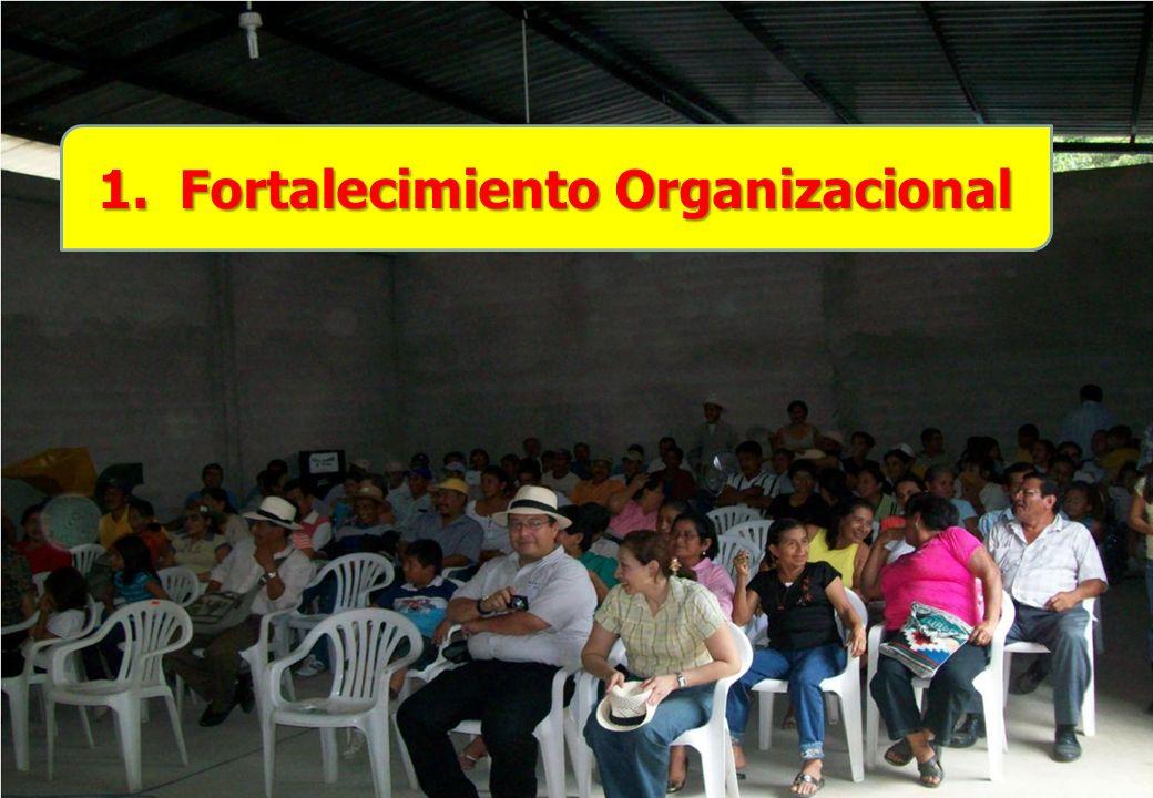 El proyecto identificado en el Ecuador con el nombre de REFINCA, cuenta con la participación directa de 1.244 pequeños productores de café.