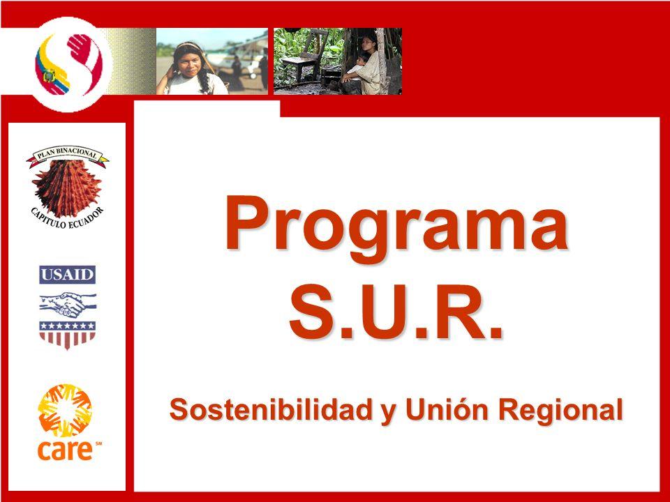 Programa S.U.R. Sostenibilidad y Unión Regional