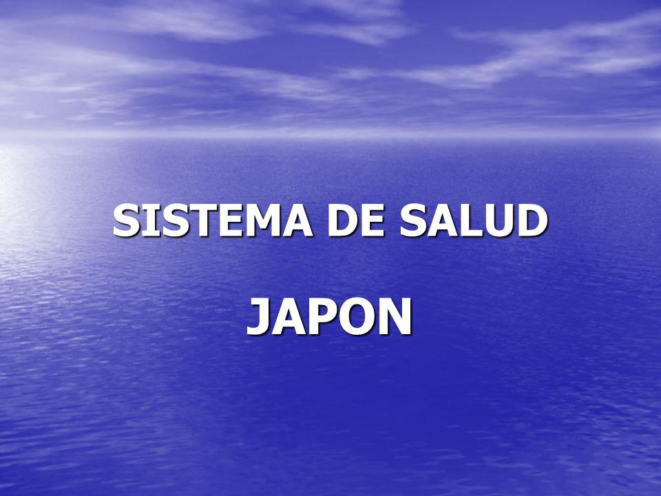 SISTEMA DE SALUD JAPON