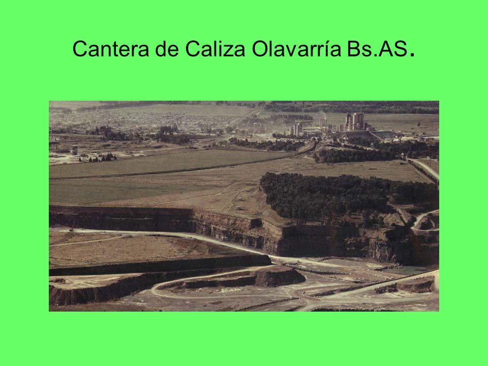 Cantera de Caliza Olavarría Bs.AS.