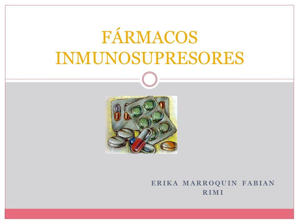 INTRODUCCION La importancia del uso de fármacos inmunosupresores en las enfermedades reumatologicas reside en la interferencia en la cascada de la inflamación.