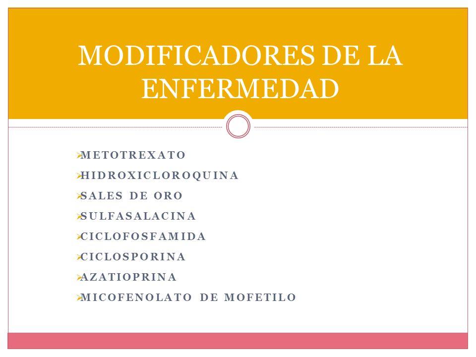 METOTREXATO MECANISMO DE ACCION Antagonista activo de la dihidrofolato reductasa (DHFR), impide que el ácido fólico se fije al sitio catalítico.