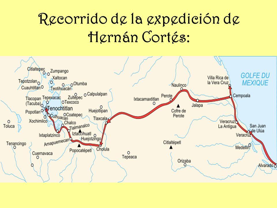 La Caída de Tenochtitlan: En Tlaxcala, Cortés reorganizó al ejército, buscó nuevos aliados y construyó trece naves en el lago Texcoco, y tras cortar el acueducto de Chapultepech, atacó por las tres calzadas el 30 de junio de 1521, con un ejército reforzado con 80 000 tlaxcaltecas y soldados procedentes de nuevas expediciones enviadas a Veracruz.