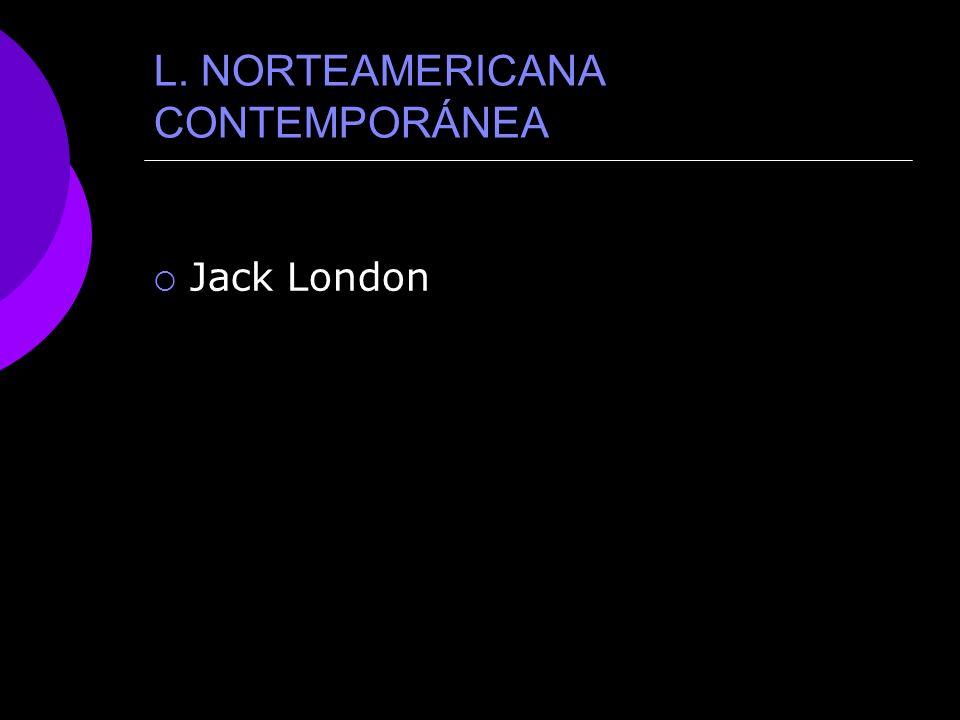 LITERATURA NORTEAMERICANA CONTEMPORÁNEA PRINCIAPL AUTOR
