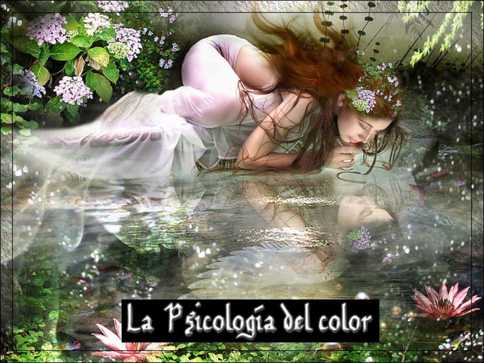 La Psicología del color.
