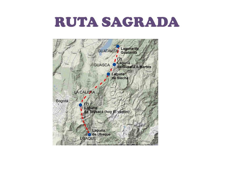 La ruta sagrada, se llevaba a cabo para rendirle culto al agua.