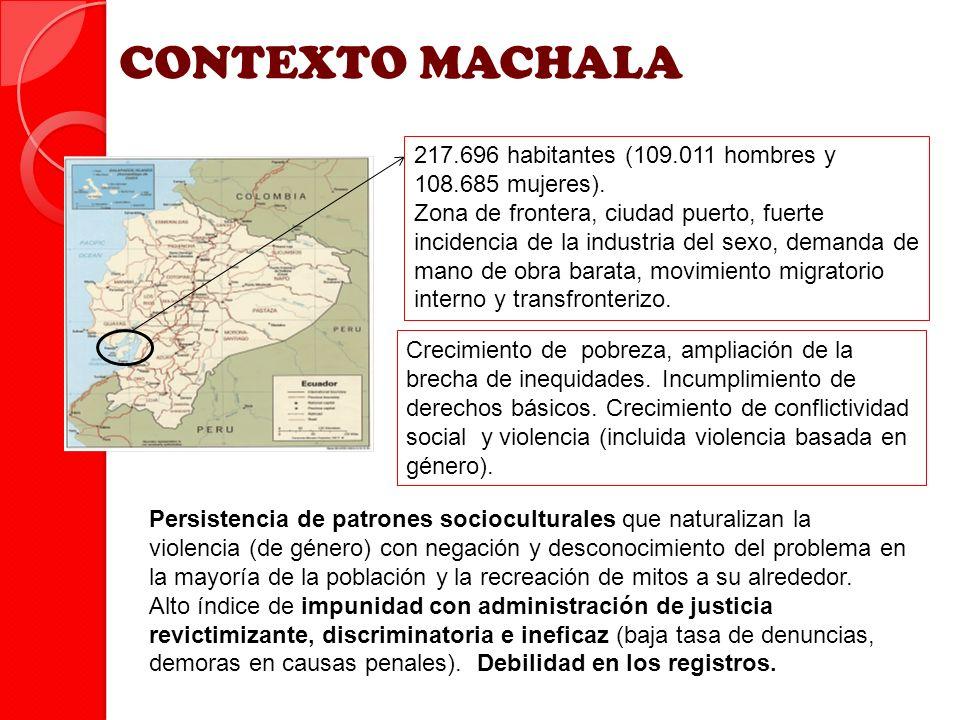 217.696 habitantes (109.011 hombres y 108.685 mujeres). Zona de frontera, ciudad puerto, fuerte incidencia de la industria del sexo, demanda de mano d