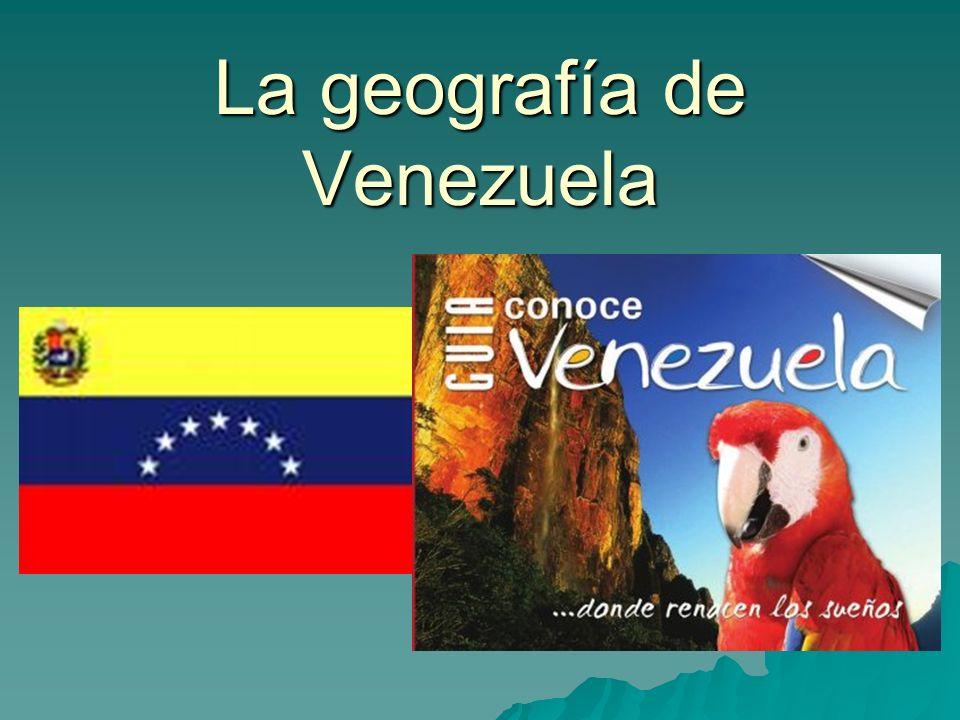 El Mapa La capital es Caracas.La capital es Caracas.