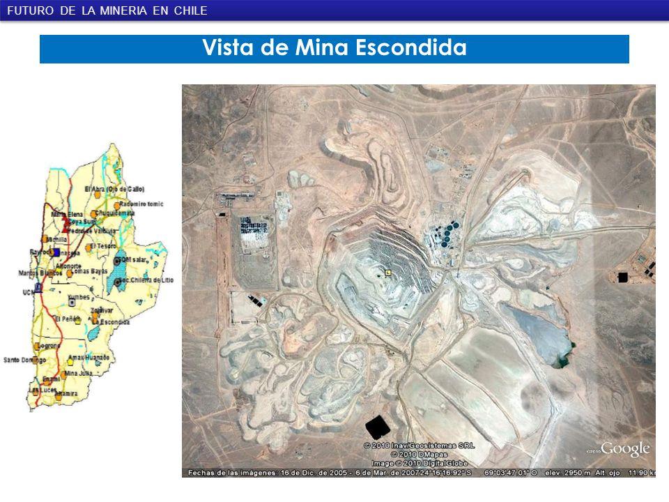 Vista de Mina Escondida FUTURO DE LA MINERIA EN CHILE