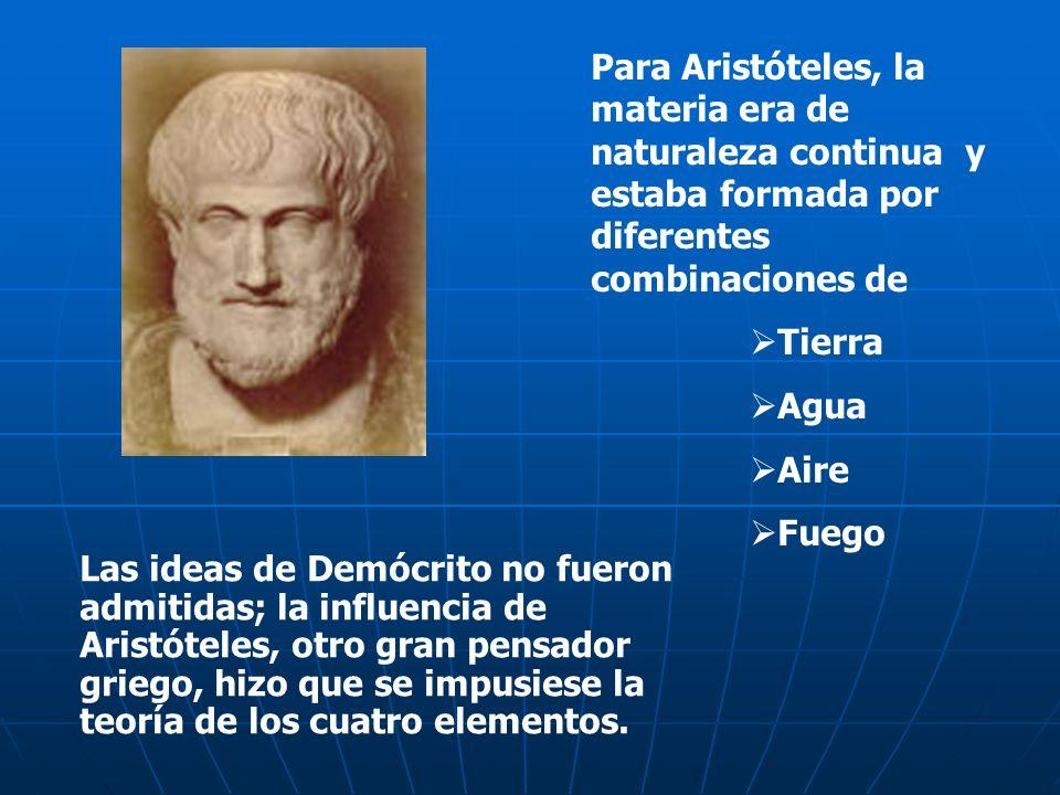 Demócrito, filósofo griego que vivió en el siglo IV a. C. propuso que, si se dividía la materia en trozos cada vez más pequeños, debería llegarse a un
