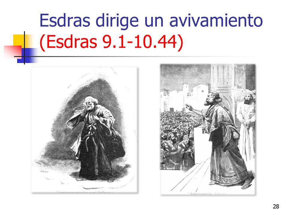 Esdras dirige un avivamiento (Esdras 9.1-10.44) 28