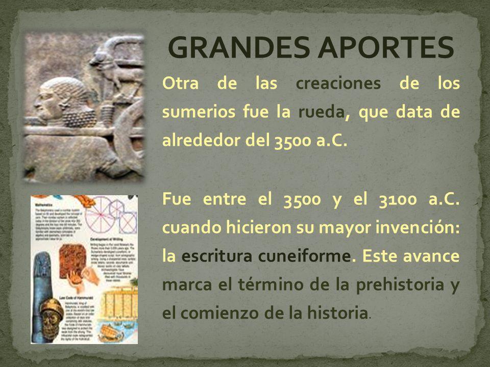 Para obtener productos de los cuales carecían -como piedras, cobre, oro y plata- los sumerios debieron abastecerse con otros pueblos.