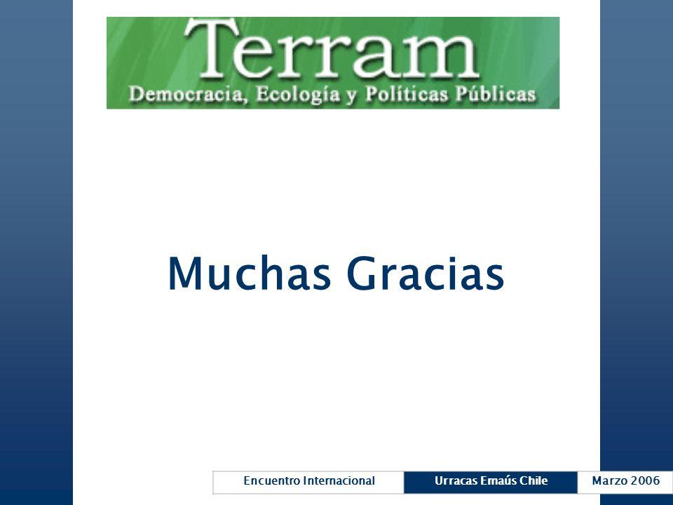 Encuentro InternacionalUrracas Emaús ChileMarzo 2006 Muchas Gracias