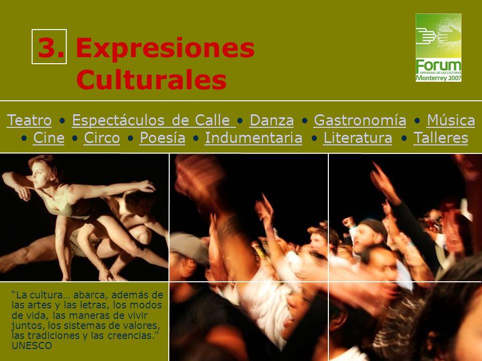 TeatroTeatro Espectáculos de Calle Danza Gastronomía Música Cine Circo Poesía Indumentaria Literatura TalleresEspectáculos de Calle DanzaGastronomíaMú