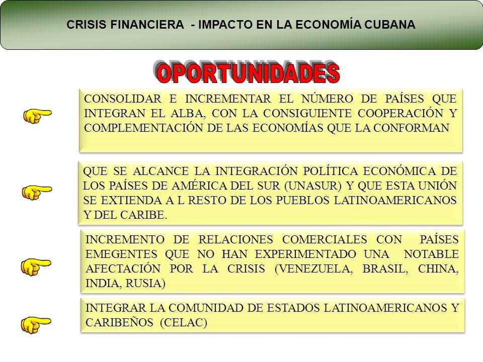 CONSOLIDAR E INCREMENTAR EL NÚMERO DE PAÍSES QUE INTEGRAN EL ALBA, CON LA CONSIGUIENTE COOPERACIÓN Y COMPLEMENTACIÓN DE LAS ECONOMÍAS QUE LA CONFORMAN QUE SE ALCANCE LA INTEGRACIÓN POLÍTICA ECONÓMICA DE LOS PAÍSES DE AMÉRICA DEL SUR (UNASUR) Y QUE ESTA UNIÓN SE EXTIENDA A L RESTO DE LOS PUEBLOS LATINOAMERICANOS Y DEL CARIBE.