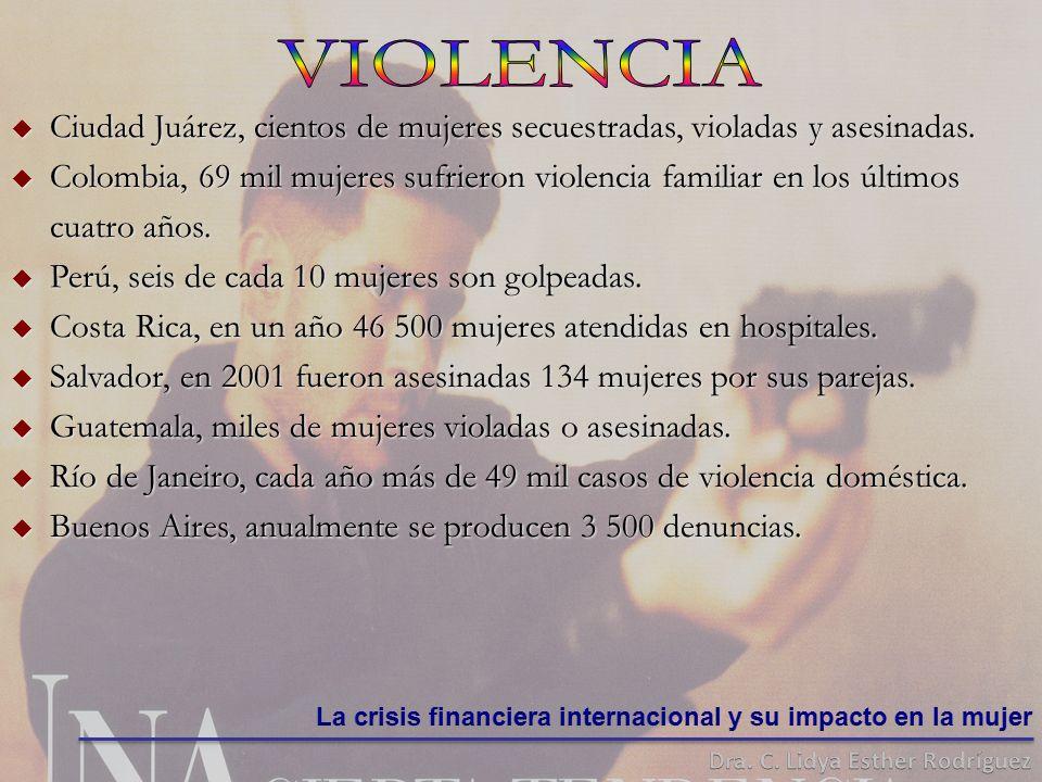 Ciudad Ciudad Juárez, cientos de mujeres secuestradas, violadas y asesinadas.