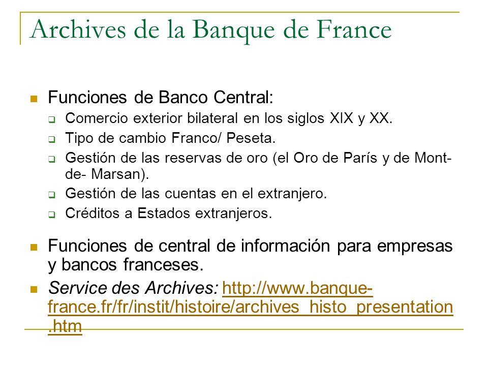Archives du Ministère des Affaires Étrangères Sede en La Courneuve (norte de París).