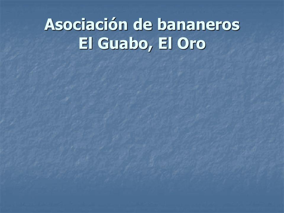 Asociación de bananeros El Guabo, El Oro