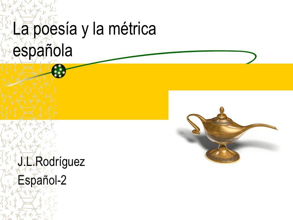 La poesía y la métrica española J.L.Rodríguez Español-2