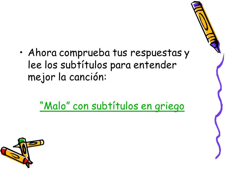Escuchar canciones en español ayuda mucho en el aprendizaje del idioma: busca, practica y sobre todo ¡¡DISFRUTA!!
