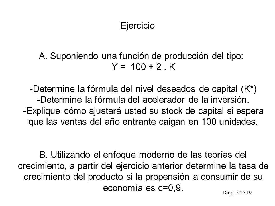 Diap. N° 318 El origen de la deuda La segunda crisis de la energía: el despertar del problema Respuestas iniciales a la crisis de la deuda La magnitud