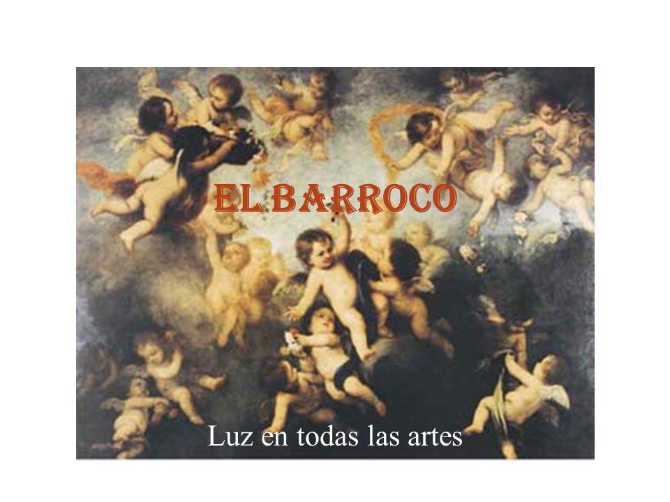 El origen del Barroco El arte barroco nace en Italia y se extiende desde principios del siglo XVII hasta mediado el siglo XVIII.