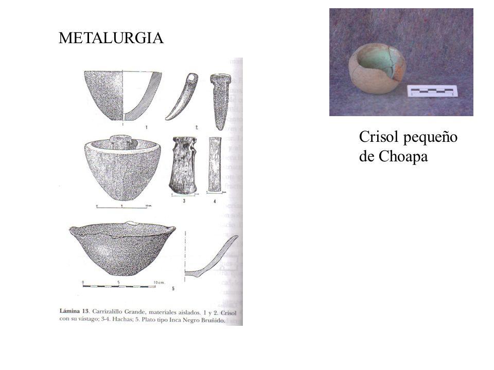 METALURGIA Crisol pequeño de Choapa