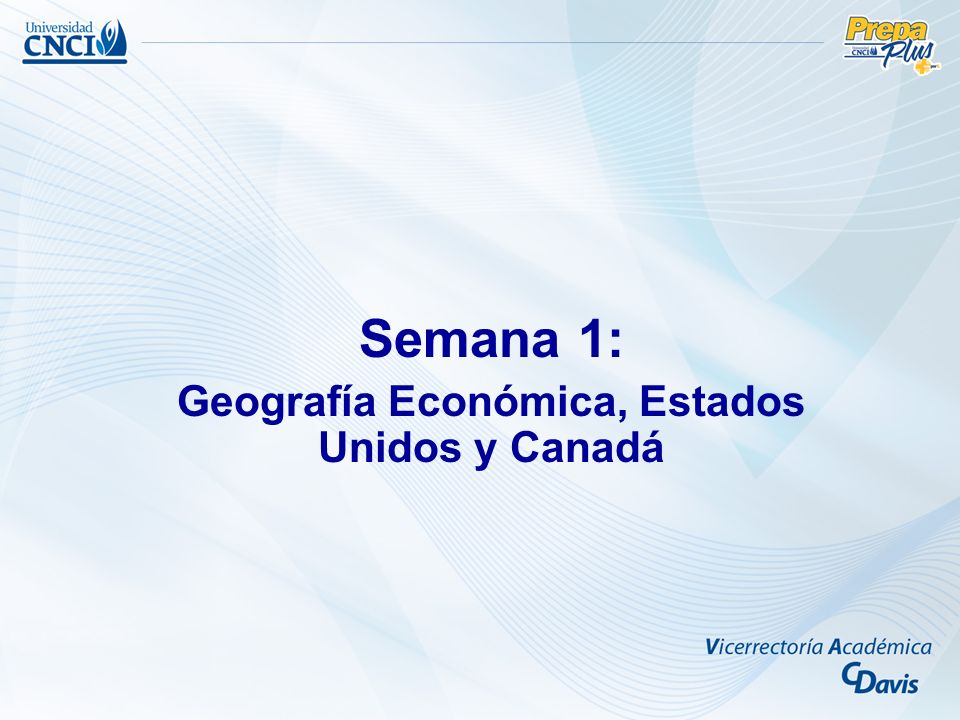 Objetivo: –Comprender el concepto de Geografía Económica, como la ciencia de enlace entre el hombre, el medio geográfico y las actividades económicas.