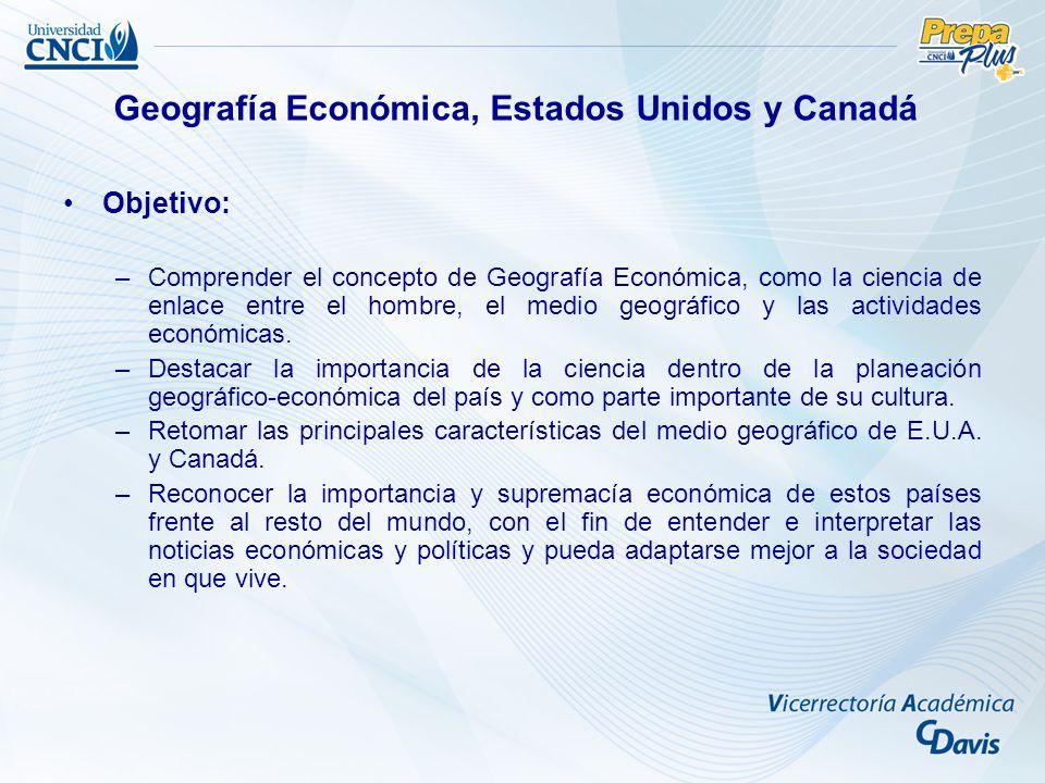 1.Concepto de geografía económica La geografía económica es una de las principales ramas de la geografía humana o social.