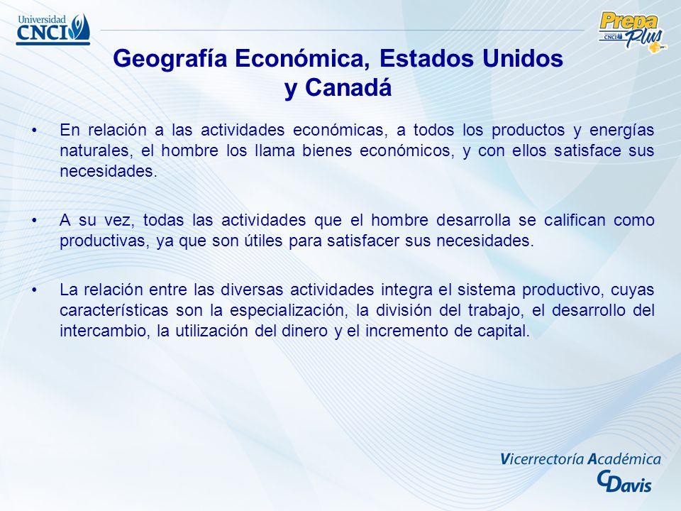 En relación a las actividades económicas, a todos los productos y energías naturales, el hombre los llama bienes económicos, y con ellos satisface sus