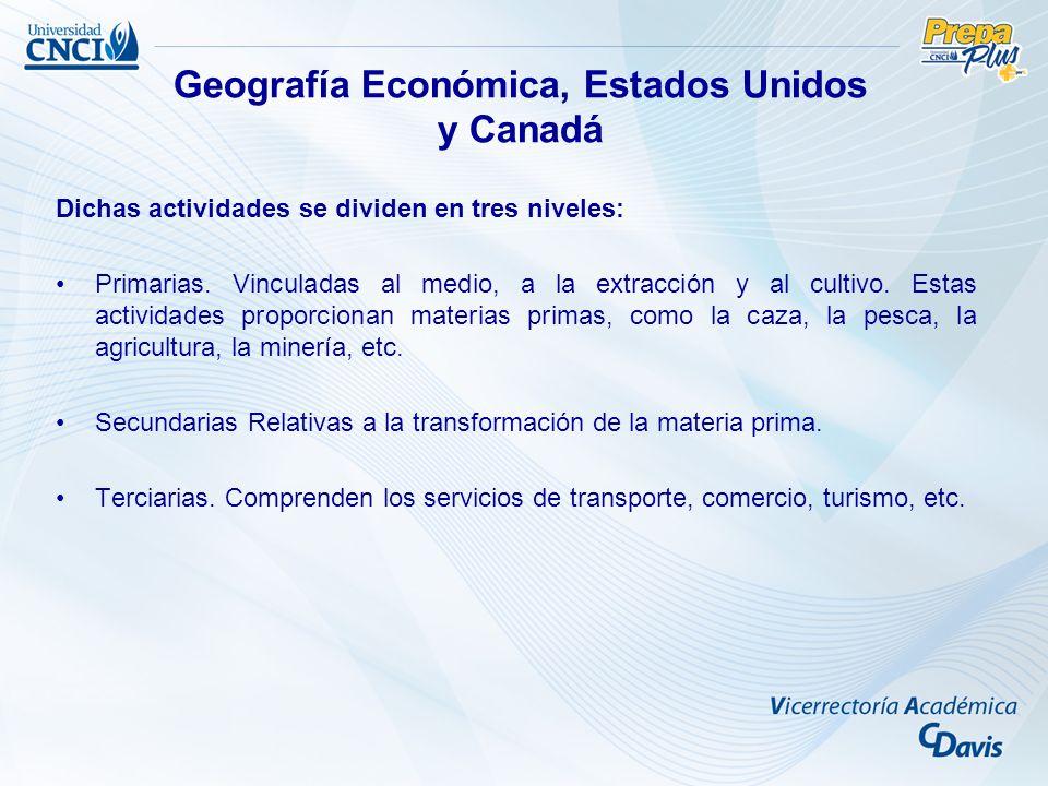 Examen muestra (Semana 1) ¿Qué es la Geografía Económica.