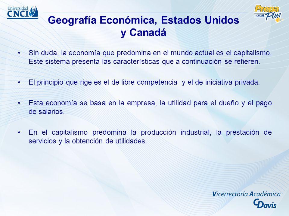 Sin duda, la economía que predomina en el mundo actual es el capitalismo. Este sistema presenta las características que a continuación se refieren. El