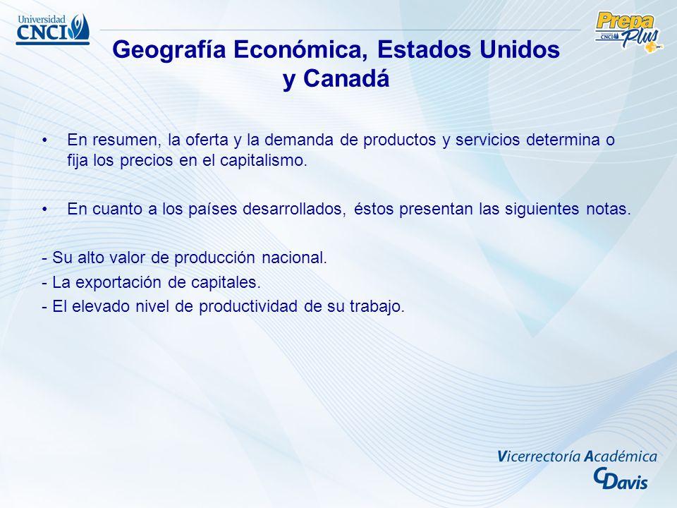 Objetivos –Retomar las principales características del medio geográfico, actividades económicas más importantes.
