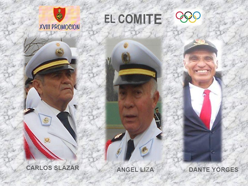 DANTE YORGES CARLOS SLAZAR ANGEL LIZA