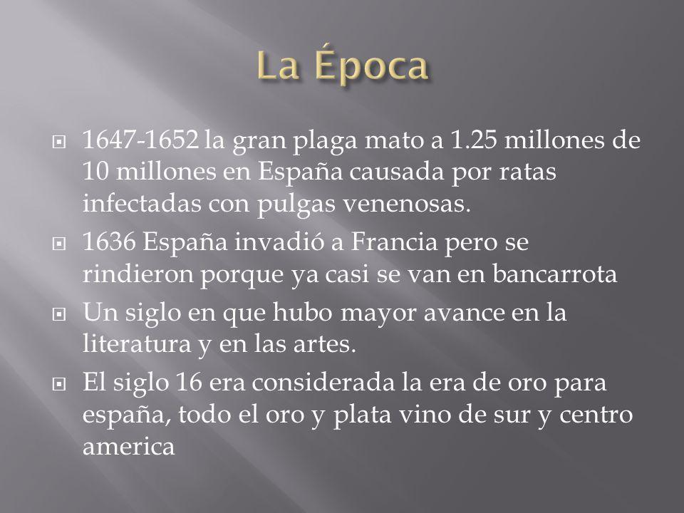 1647-1652 la gran plaga mato a 1.25 millones de 10 millones en España causada por ratas infectadas con pulgas venenosas.