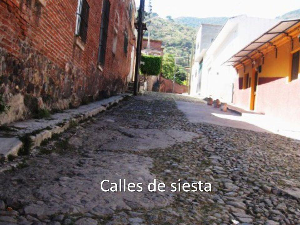 Calles de siesta