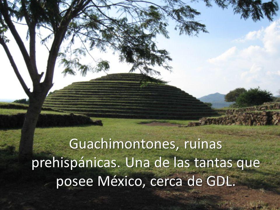 Guachimontones, ruinas prehispánicas. Una de las tantas que posee México, cerca de GDL.