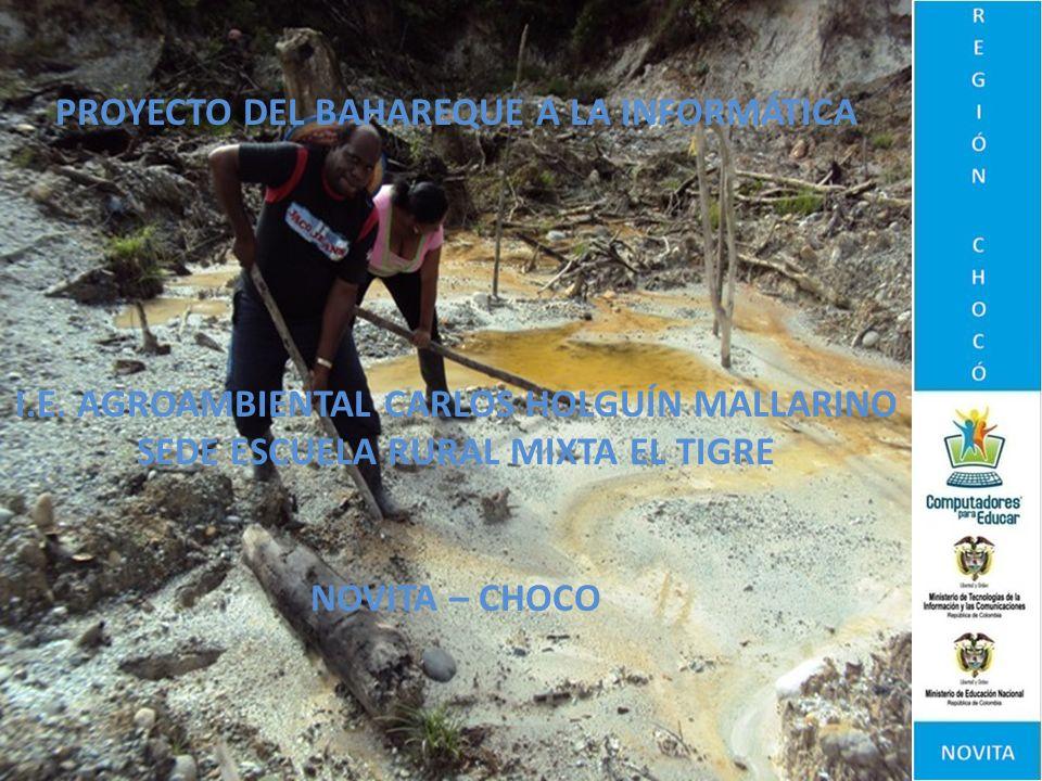 CONCLUSIONES El trabajo con el Bahareque contribuye a conservar la tradición minera propia de la región.