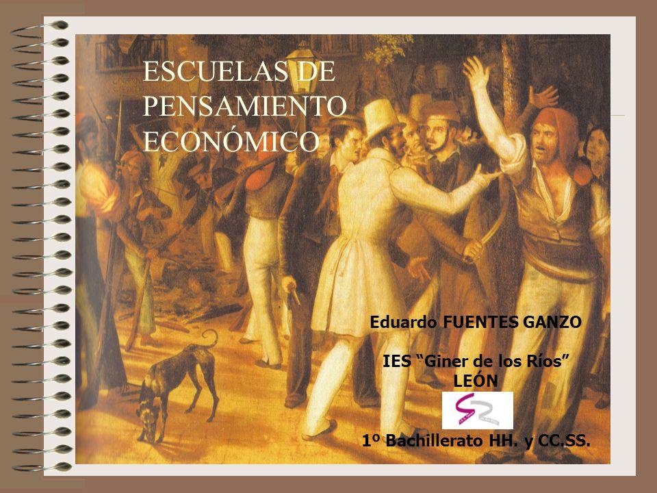 ESCUELAS DE PENSAMIENTO ECONOMICO I PRECEDENTES A) Las cuestiones económicas han preocupado a muchos intelectuales a lo largo de los siglos.