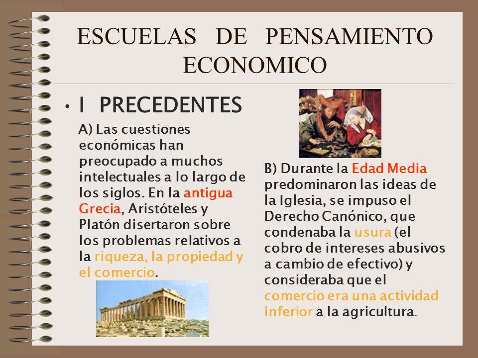 IX Los nuevos caminos 1.Escuela Institucionalista.