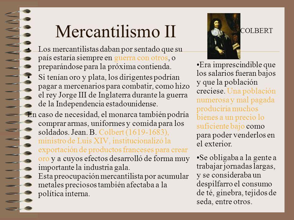 III Fisiocracia Esta doctrina económica estuvo en boga en Francia durante la segunda mitad del siglo XVIII y surgió como una reacción ante las políticas restrictivas del mercantilismo.