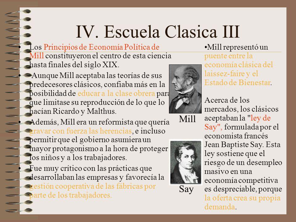 V Marxismo La oposición a la Escuela Clásica provino de los primeros autores socialistas, como el filósofo social francés Claude Henri de Rouvroy conde de Saint-Simon, y el utópico británico Robert Owen.